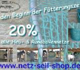 Futternetz Heunetz für Rundballen 20% Rabatt im September 2019 - Westerstede