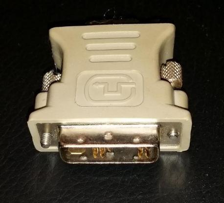 DVI-D 16 Pin Stecker auf VGA 15 Pin Buchse Video Konverter - Verden (Aller)