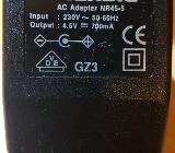Original Netzteil Grundig AC Adaptor NR 45-5 4,5 V 700 mA - Verden (Aller)