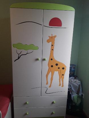Kinderzimmer mit 3D-Tiermotiven - Bremen