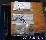 4 Stück 2 Euro Münzen Stempelglanz 6 - Bremen