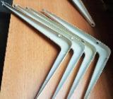5 x Stück Regalwinkel Regal Träger 15 cm x 20 cm in weiss - Verden (Aller)