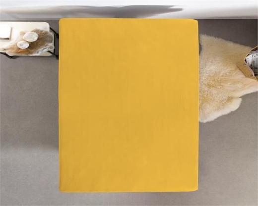 Spannbettuch Double Jersey 220 gr. Gelb ReVyt - Friesoythe