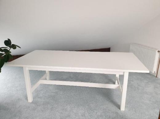 Ikea Tisch ausziehbar - weiß