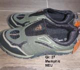Sneaker Halbschuhe von Memphis, ohne Schnüren, Gr. 37 NEU - Bremen