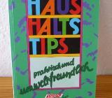 """Buch """"Haushaltstipps"""" (Karin Winkell) - Bremen"""