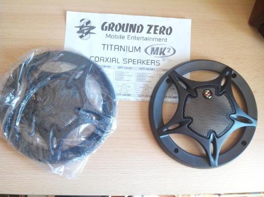 """GROUND ZERO GZTF 130 MK2 Lautsprecher Abdeckung """" NEU """" - Verden (Aller)"""