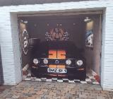 Garagentorleinwand Mustang - Lilienthal