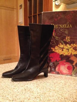 """Edel!Elegant!Klassisch!Zeitlos! Stiefel von """"Brunella"""" Made in Italy"""
