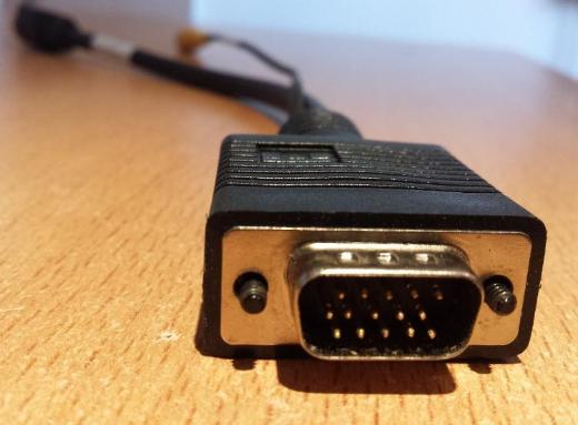 3 x Stück VGA SVGA S-Video S-VHS Chinch Composite Kabel - Verden (Aller)