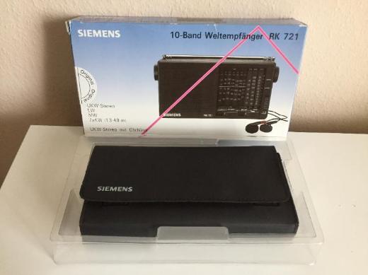 Siemens 10-Band Weltempfänger RK 721 -NEU- - Bremen