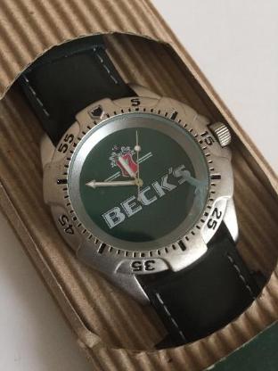 Becks Armbanduhr Limited Edition -Sammlerstück- - Bremen