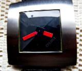 Seltene Design-Marken-Armbanduhr, Echt-Lederarmband, kaum getragen, fast neuwertig! - Diepholz