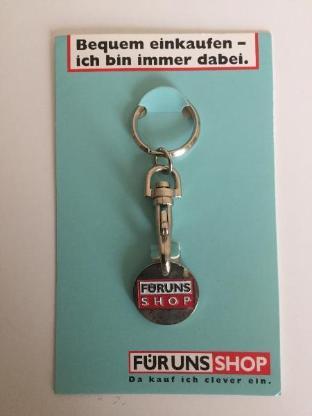Einkaufswagenchip Metall mit Schlüsselanhänger -Sammlerstück- - Bremen