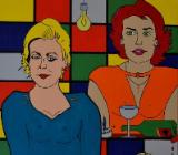 "Acrylbild ""Women"" von Ramke.Art - Bremen"