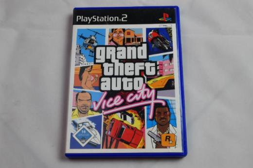 Grand Theft Auto: Vice City -- PlayStation 2-- DVD-Box-- - Emstek