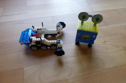 LEGO Raumfahrt 6927 All Terrain Vehicle (1981)
