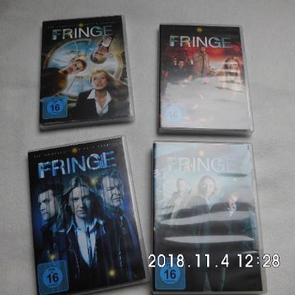 DVD Fringe Staffel 1-4 - Bremen