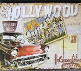 Blechschild Hollywood - 20x25 cm - Scheeßel
