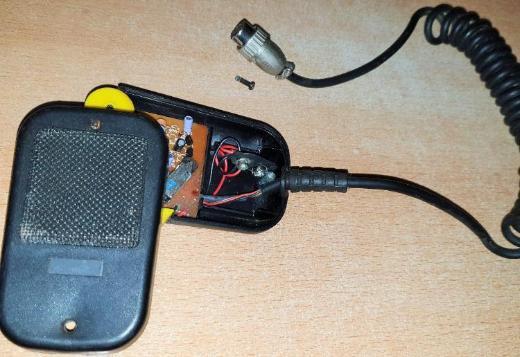 CB-Funk Zubehör-MS100 Funktechnik-Mikrofon-Stecker - Verden (Aller)