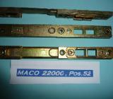 MACO-Kombischließteile,verstellbar,für 12mm Falzluft,22000,gelb chrom.,neu - Ritterhude