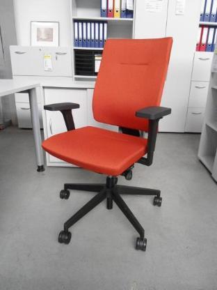 Bürodrehstuhl Xenon SFL, Stoff orange - Bremen