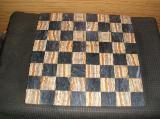 Schachbrett aus Marmor und Onix