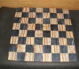 Schachbrett aus Marmor und Onix - Schwanewede