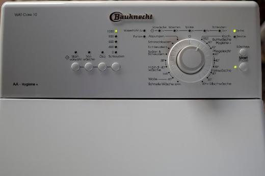 BAUKNECHT WAT CARE 10 TOPLADER WASCHMASCHINE 5Kg