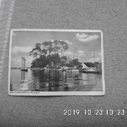 Historische Postkarte Neu Helgoland bei Worpswede