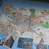 Alter Stadtplan von Bremen mit Historischen Ansichtskarten