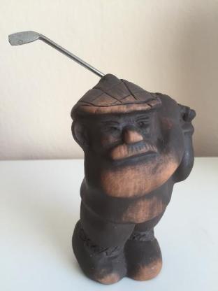 Hallo Golffreunde - Golfmännchen- / Trophäe - Bremen