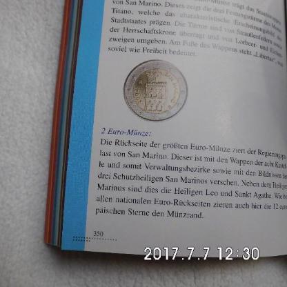 2 Euro San Marino 2013 Kursmünze - Bremen