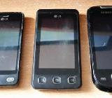 5 x Stück Defekte Quad Band Handy`s 3 x LG + 2 x Samsung - Verden (Aller)