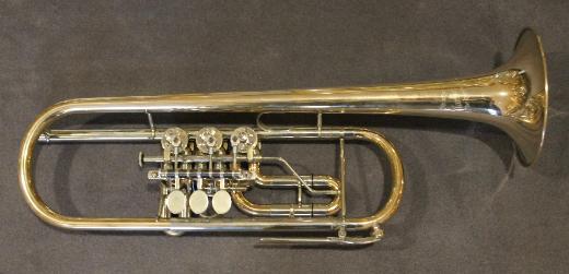 Meister Martin Peter Konzert - Trompete. Goldmessing inkl. Koffer - Bremen Mitte