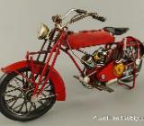 Blechspielzeug - Motorrad - Antik - rot - Antik - ca. 32 cm - Scheeßel