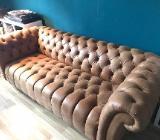 Verkaufe Big Sofa aus Anilinleder - Bremen