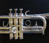 GETZEN D/Es(Eb) - Trompete, U.S.A., versilbert inkl. Koffer und Papiere - Bremen Mitte