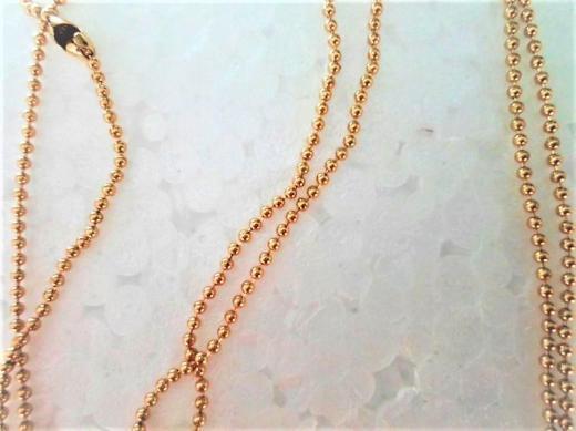 Halskette mit Trockenblumen-Anhänger-NEUWARE - Holdorf