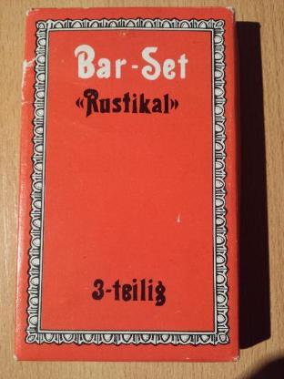 3 Teiliges Bar Set - Rustikal - Verden (Aller)