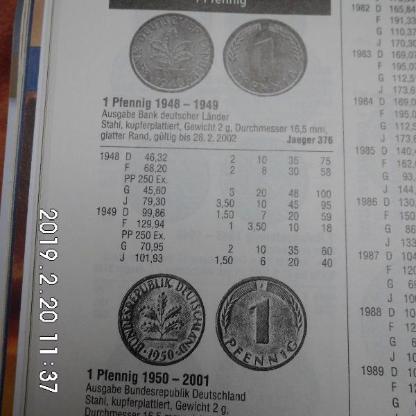 Deutsche Mark 1 Pfennig - Bremen