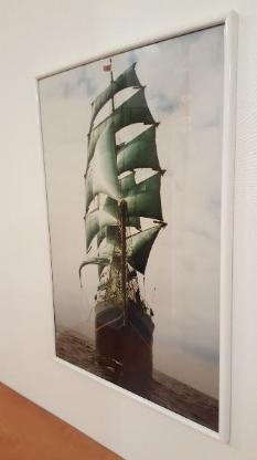 Diverse Bilder in verschiedenen Größen und unterschiedlichen Rahmen - Bremen