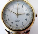 """Qualität: """"TIMEX""""-Damenuhr, 5 BAR, komplett Edelstahl """"bicolor"""", sehr gepflegter Zustand! - Diepholz"""