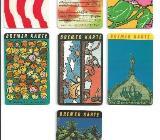 Bremer Karte BSAG 80/90er Jahre -Sammlerstücke- - Bremen