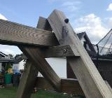 Spielturm / Kletterturm / Schaukel / Rutsche - Rotenburg (Wümme)