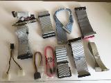 PC Flachbandkabel und IDE Stromanschlusskabel mit Stecker
