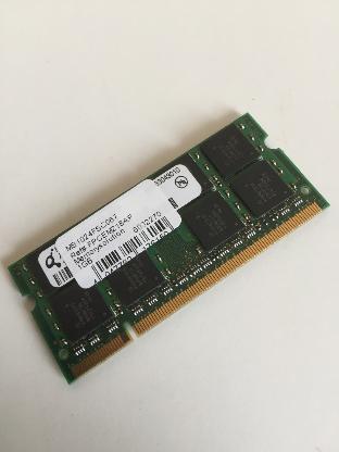 Memory Solution MS1024FSC067, 1 GB SO-DDR2-RAM, Laptop-Speicher - Bremen