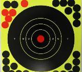 """Splatter Target Zielscheiben -100 Stück- NEU selbstklebend 8"""" x 8"""" (20 cm x 20 cm) - Bremerhaven"""