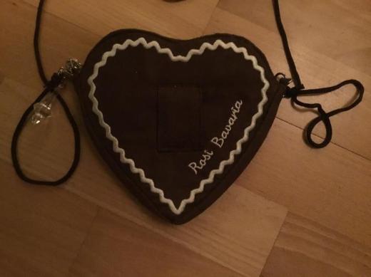 Herz Trachtentasche - Bremen