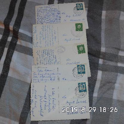5 Ansichtskarten 1959-1963 - Bremen